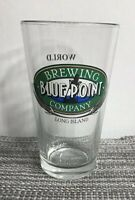 BLUE POINT BREWING CO Company 16oz Pint Glass Long Island NY World Beer Cup Gold