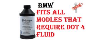 BMW GENUINE Brake Fluid Fits All the BMW Models 81220142156 QTY X3 DOT4