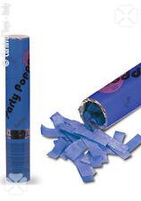 Canon à confettis en papier de soie bleu [4177] mariage anniversaire surprise