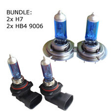 2x h7 Lampes +2x hb4 9006 ampoules Xenon Look Optique VW BMW OPEL SEAT FIAT MB 12 V