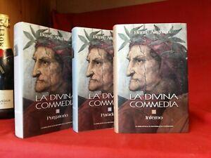 LA DIVINA COMMEDIA - 3 voll. illustrati 2009 - Biblioteca Repubblica / Espresso
