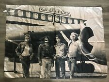 Led Zeppelin Flag Wall Banner Airplane Rock Music Band 2004