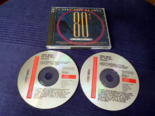 2CD Very Best Of The 80s VOL 1 Wham Toto Bangles Europe Men At Work36 Nr. 1 Hits