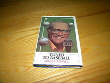 Tuned To Baseball Ernie Harwell Detroit Tigers Signed HC Book To Cass W/COA
