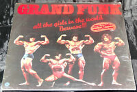 /Grand Funk All the Girls Sealed Vinyl Record Lp USA 1974 Orig Capitol Hype