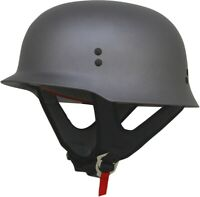 AFX FX-88 Solid Half Helmet Size Small Frost Gray