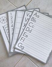 Dry Erase Alphabet School Boards