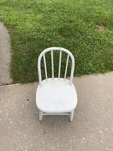 Antique Child's Chair White