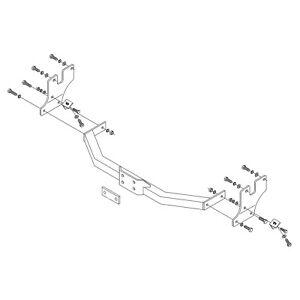 PCT Towbar for Toyota HiAce Powervan SWB/LWB 1995-2011 - Flange Tow Bar