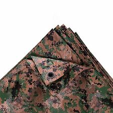 NEW Stansport Digital Woodland Camo Tarp 8 x 10 Feet FREE SHIPPING