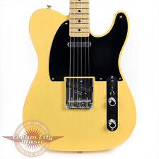 Brand New Fender Road Worn 50s Telecaster Electric Guitar Blonde Tex Mex Tele