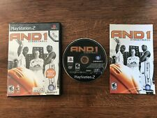 And 1 Streetball One Basketball Playstation Two PS2 - TESTED - Fast Shipping