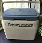 Vintage 1989 GRAY / SLATE BLUE TOP Coleman Personal 8 Cooler Lunch Box 5272 USA