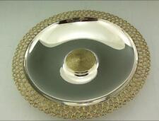 Stuart Devlin solid silver gilt bol 13 in (environ 33.02 cm) DIA 1977