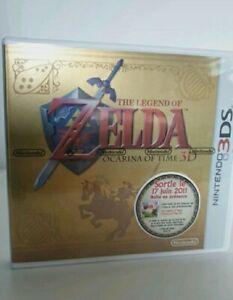 The legend of zelda ocarina of time 3D boîte collector sans jeu Nintendo 3Ds