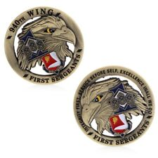 Zinc Alloy The first sergeant Eagle Commemorative Challenge Coin Collection 1PC