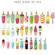 30x Ice-Cream  Heteromorphism Paper Bookmark Decor Accessories Kids Gift LH