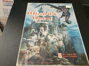 WIZARD'S QUEST, AVALON HILL, PUNCHED