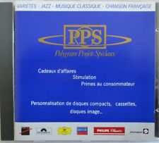 JOHNNY HALLYDAY - VANESSA PARADIS - DIRE STRAITS - GLENN  MEDEIROS - CD PROMO