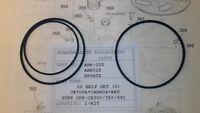 SONY CDP-CX300/CX350/CX691 CD BELT SET UK*USA*CANADA*AEP MODELS /ABK025