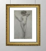 SIMONE BLANC-DEROCQUE (1903-2000) SUPERBE NU FEMININ VERS 1930 (26)