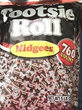 Tootsie Roll Midgees Original 5 Lb Bag Chewy Chocolate Candy, FreeShipping