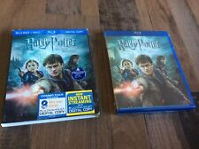 Harry Potter and the Deathly Hallows: Part II (Blu-ray/DVD, 2011, Ultraviolet)k