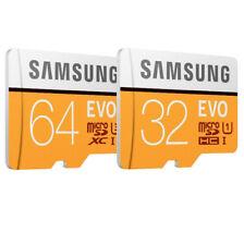 32GB/64 GB/128 Go Class 10 Samsung Memory Card TF EVO 4K HD MicroSDHC/XC Retail