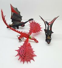 LOT of 3 How To Train Your Dragon 2 Power Hookfang + 2 Toothless Racing Stripes