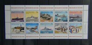 Nauru 2005 60th anniversary of end of World War 2 Sheet LMM
