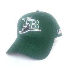 Tampa Bay Rays Baseball Hat Cap Twill Adjustable OSFM Throwback Logo RARE New
