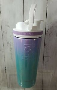 Ice Shaker 20oz Stainless Steel Insulated Blender Bottle Mermaid NEW