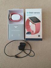 Fitbit Versa 2 Rose Gold Pink Smartwatch