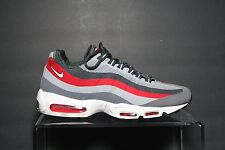 Nike Air Max 95 Retro No Sew 13' Sneaker Running Hip Multi Size 10 Red Grey