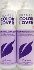 Framesi Color Lover Volume Boost Conditioner - 2 Bottles - 16.9 Oz. Each
