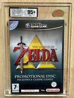 The Legend Of Zelda Collectors Edition UKG 95+ MT GOLD Gamecube PAL Rare Sealed