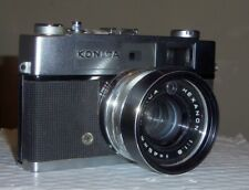 Rebuilt KONICA Auto S2 Hexanon + Leather Case/ Converted to use 1.5 volt Battery