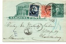 CHILE: Postal stationery to Germany 1920, postage due.