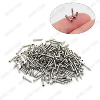 M1 M1.2 M1.4 M1.7 Stainless Steel Phillips Countersunk Small Self Tapping Screws