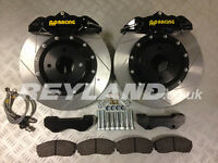 Honda Civic Type R EP3 330mm front brake kit with AP Racing 4 pot calipers