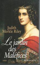 Le jardin des maléfices . Judith MERKLE RILEY.Presses de la Cité M008