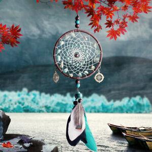 Green Stone Wind Chimes Car Pendant Ornaments Handmade Jewelry Graduation Gift C