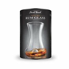 Final Touch RUMTASTER Rum Tasting Glass  - Curved glass Designed For Fine Rums