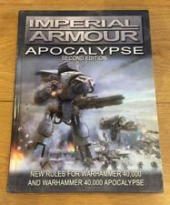 * WARHAMMER 40K FORGE WORLD IMPERIAL ARMOUR APOCALYPSE 2nd EDITION HARDBACK BOOK