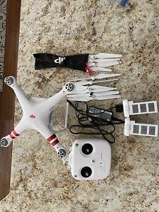 DJI Phantom 3 Standard Quadcopter Camera Drone - White