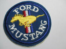 Ford Mustang Embroidered/Sticker  Patch, Vintage, NOS, RARE,3 X 3 INCHES