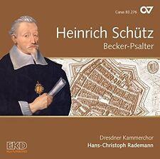 Heinrich Schutz: Becker-Psalter [New CD]