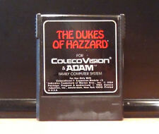 ColecoVision / ADAM - Shérif fais moi peur / The Dukes of Hazzard - 1984 - RARE