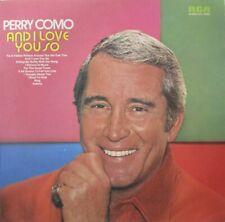 PERRY COMO - And I Love You So ~ VINYL LP