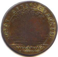 Louis XIV Token Copper Extraordinaire Of Wars Non Dated Feuardent 720